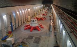 Завершены работы по реконструкции Усть-Хантайской ГЭС