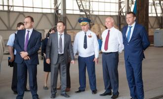 Губернатор Самарской области иГлавнокомандующий ВВС РФпосетили ОАО «ТЯЖМАШ»