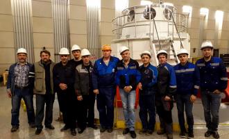 Завершены испытания четвертого пускового комплекса наУсть-Хантайской ГЭС