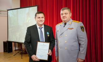 Генеральный директор АО«ТЯЖМАШ» награжден медалью МЧС России