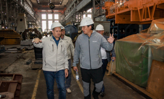 Завод посетили заказчики изМонголии
