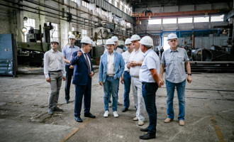 «ТЯЖМАШ» посетил вице-президент инжинирингового дивизиона госкорпорации «Росатом»