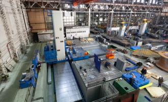«ТЯЖМАШ» завершает монтаж станка NS17F2 после модернизации