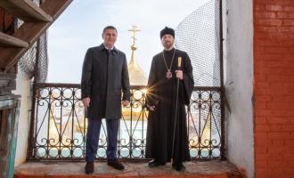 Генеральный директор АО«ТЯЖМАШ» профинансирует реставрацию звонницы всызранском соборе Казанской иконы Божией Матери
