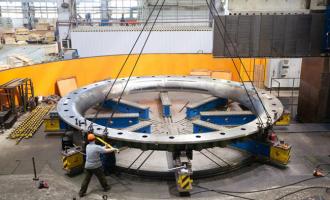 Завершаются работы повторой гидротурбине для Иркутской ГЭС