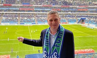 Генеральный директор АО «ТЯЖМАШ» по приглашению губернатора Самарской области посетил четвертьфинальный матч Кубка России