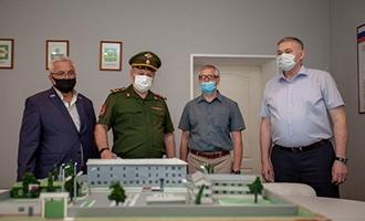 Директор по общим вопросам АО «ТЯЖМАШ» посетил сборный пункт в городе Сызрани