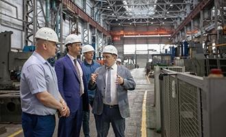 АО «ТЯЖМАШ» посетил депутат Госдумы РФ Владимир Гутенёв