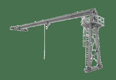 Грузоподъемные машины для производственных цехов