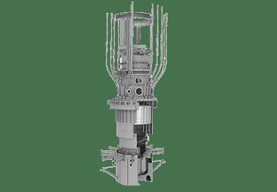 Оборудование шахты реактора