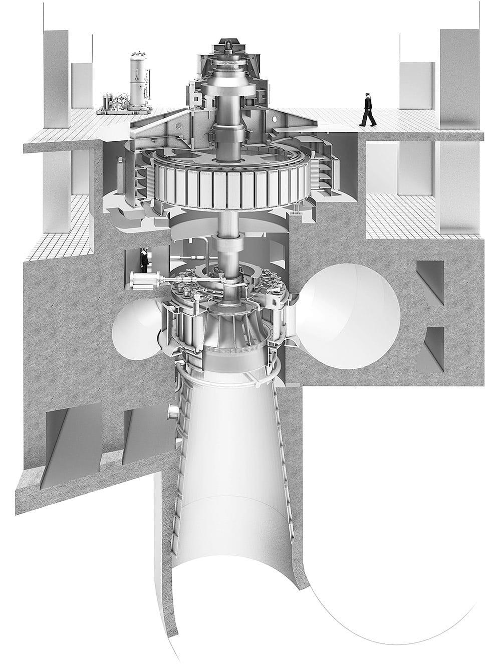 Гидротурбина для Усть-Хантайской ГЭС