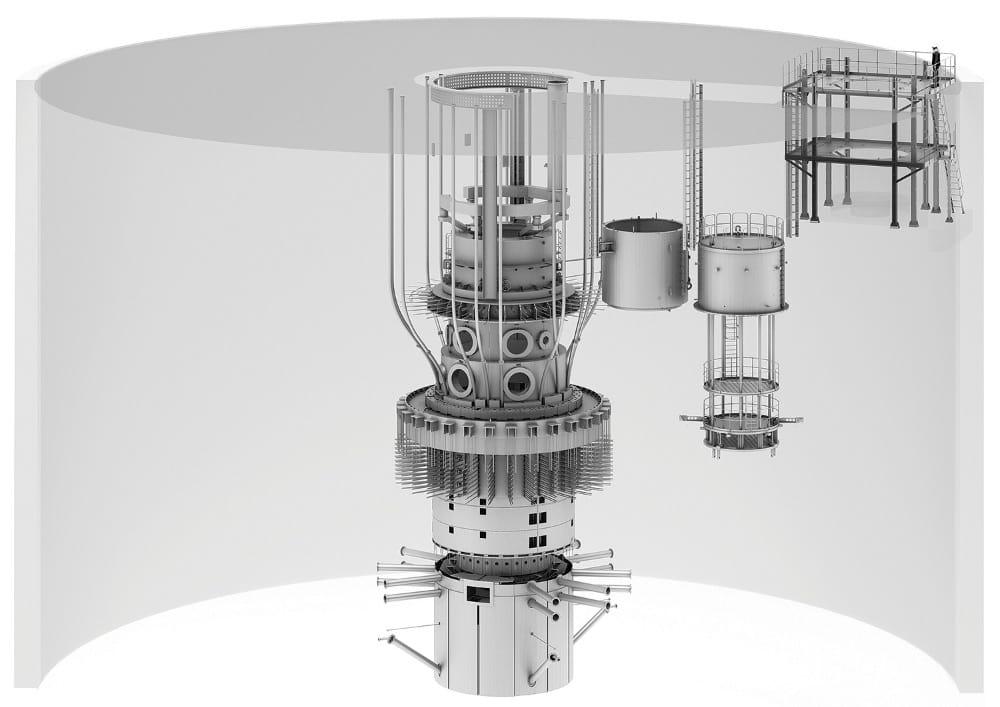 Оборудование реакторной установки
